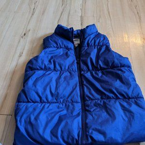 Old Navy Girl Puffer Vest Frost Free Size Large 10